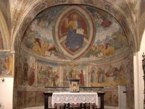 affreschi santo stefano rovato