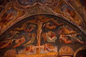 Crocifissione chiesa S.Agata Brescia