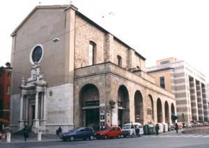 esterno chiesa agata brescia