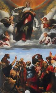 Assunzione della Vergine - Moretto - Duomo Vecchio Brescia.
