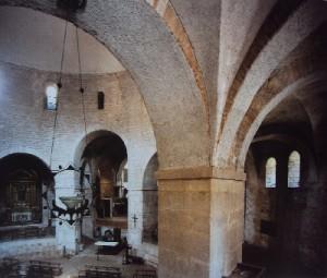 Interno del Duomo Vecchio di Brescia.