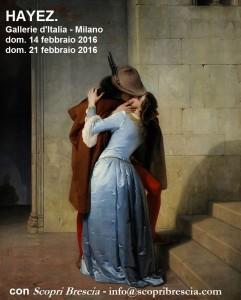 Mostra di Hayez a Milano - visite guidate.