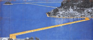 Christo - The Floating Piers project - Iseo Lake.