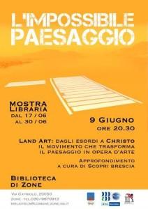 Land Art - Biblioteca di Zone - Scopri Brescia.