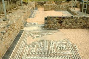 La villa romana di Toscolano.
