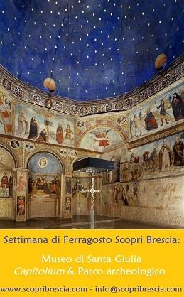 Visite guidate Museo Santa Giulia e Brescia romana a ferragosto