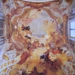 affreschi chiesa faustino brescia