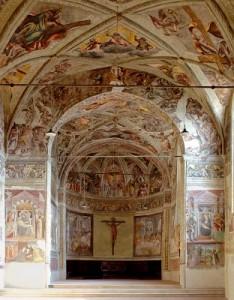 Affreschi cappella sistina Brescia