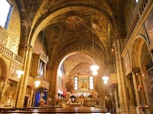 interno chiesa agata brescia