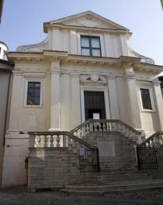 Scalinata della Chiesa di San Giorgio - Brescia