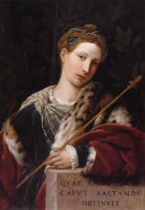 Salomé - Moretto - Pinacoteca Tosio Martinengo.
