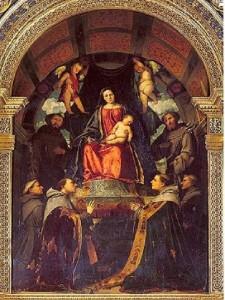 Romanino, Pala dell'altare maggiore, Chiesa S. Francesco, Brescia - Scopri Brescia