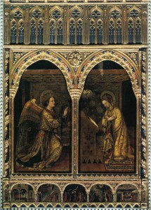 J. Bellini - Annunciazione - Chiesa S. Alessandro Brescia.