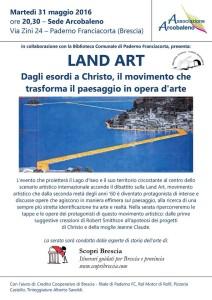Conferenza Land Art - Christo - Paderno Franciacorta.