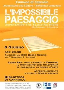 Land Art - Biblioteca di Capriolo - Scopri Brescia.