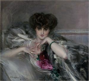 Giovanni Boldini, Ritratto della Principessa Radziwill, Mostra Ottocento Brescia.
