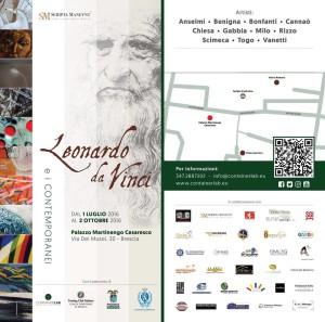 Mostra Leonardo da Vinci e I Contemporanei - Brescia.