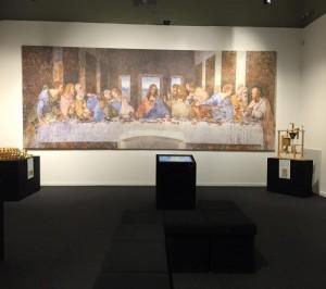 Mostra su Leonardo e Cenacolo - Brescia.