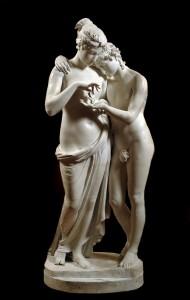 Calco di Amore e Psiche - Canova - Mostra Palazzo Martinengo.